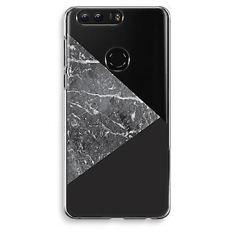 Honor 8 Transparent Case (Soft) - Marble combination