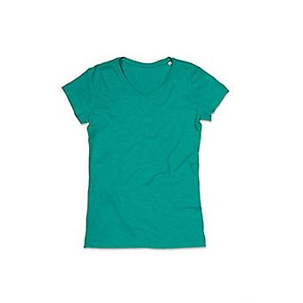 Stedman Stars donna/Womens Sharon Slub V Neck t-shirt