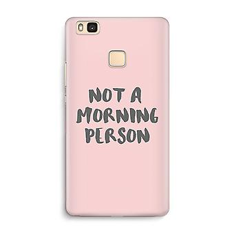 Huawei P9 Lite Full Print Case - Morning person