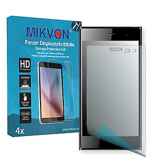 Archos 45c Platinum Screen Protector - Mikvon Armor Screen Protector (Retail Package with accessories)