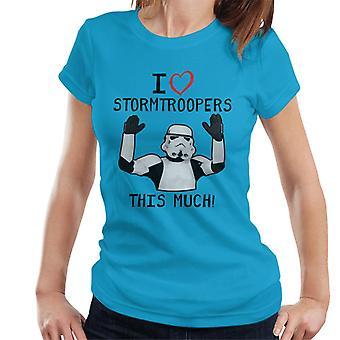 Stormtrooper original adoro Troopers esta t-shirt muito feminino