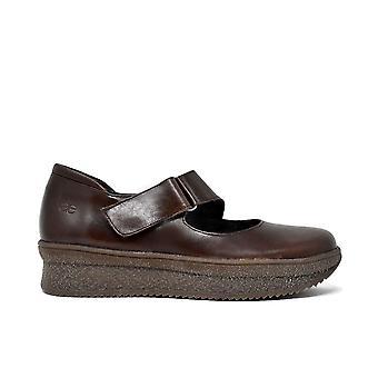 Liberitae Zapatos De Cordones Y Bluchers Zapato Confort En Piel Marrón 21803310-03