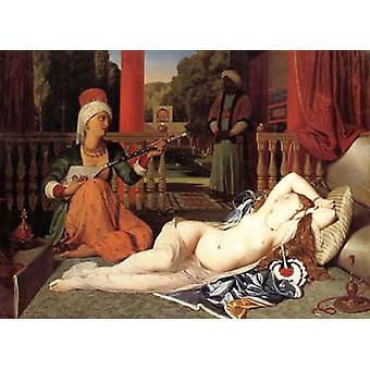 Oadlisque com escrava, Jean Auguste Dominique Ingres
