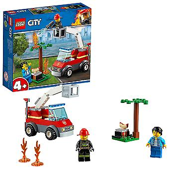 Lego City 60212 Fire Barbecue Burn Out Truck Toy