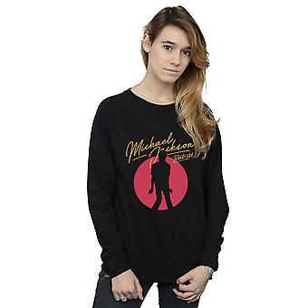 Michael Jackson Women's Beat It Red Circle Sweatshirt