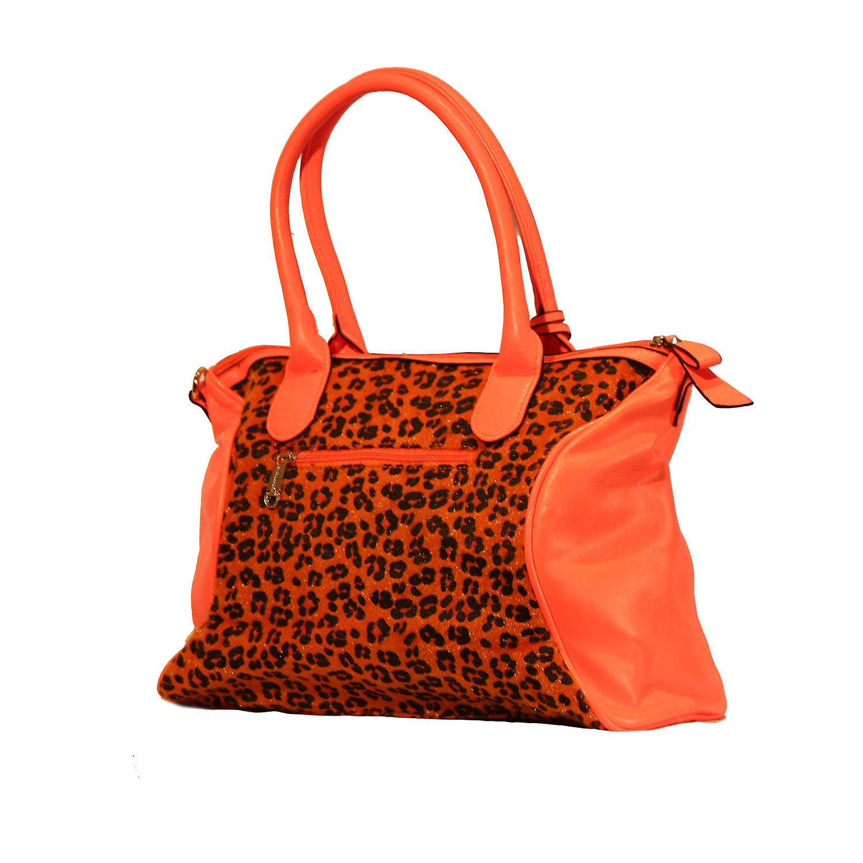 Waooh - mode - handtas stijl luipaard Tifa