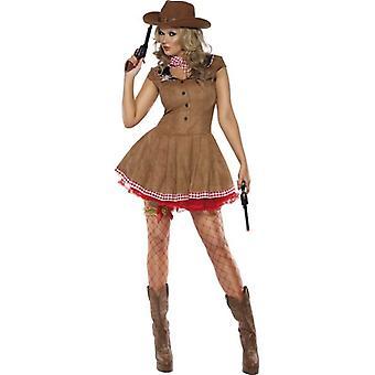 Fever Wild West Costume, UK Dress 12-14