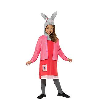 Peter Rabbit, Lily Bobtail Deluxe Costume, Peter Rabbit TV, Toddler Age 3-4