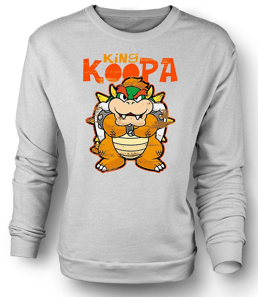 Mens Sweatshirt King Koopa - Super Mario