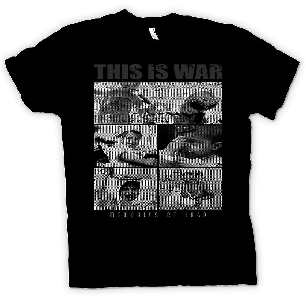 Kids T-shirt - This Is War - Memories Of Iraq