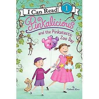 Pinkalicious e o jardim zoológico de Pinkatastic dia: 1 (pode ler livro 1) (pode ler! Pinkalicious - nível 1