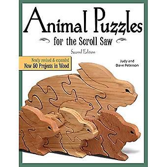 Dieren puzzels voor de Figuurzagen (Figuurzagen houtbewerking & ambachten boek)