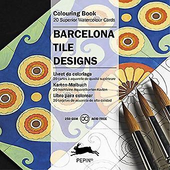 Barcelona Tile Designs (Artists Colouring Book)