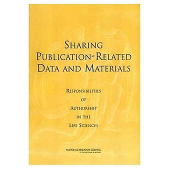 Deling publikasjon-relaterte Data og materialer: ansvar av i biovitenskap