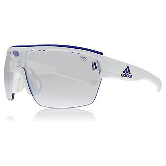 Adidas AD05 1500S White Shiny Zonyk Aero Pro S Visor Sunglasses Lens Category 1 Size 45mm