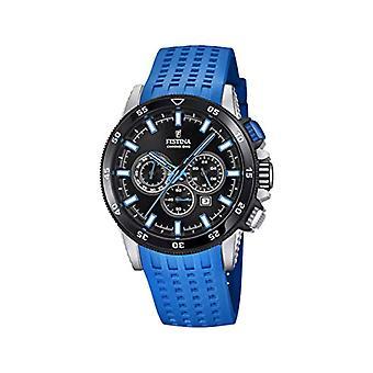 Festina Chronograph quartz men's Watch with Silicone strap F20353/7