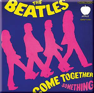 Beatles Come Together / Something fridge magnet    (ro)