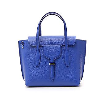 Tod's Joy Blue Leather Handbag