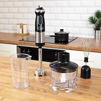 Busca 3 em 1 mão liquidificador 700w batedor processador de alimentos jarro de medição