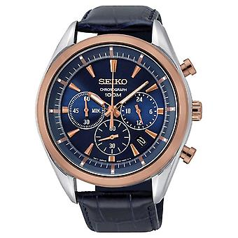 Seiko Quartz Ssb160p1 Chronograaf Herenhorloge 44 Mm