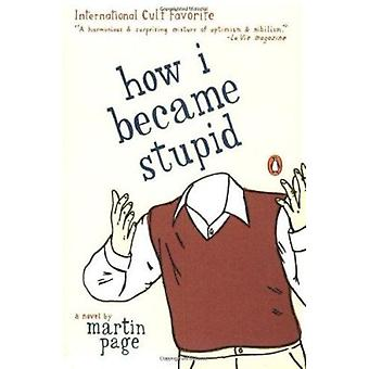 How I Became Stupid Book