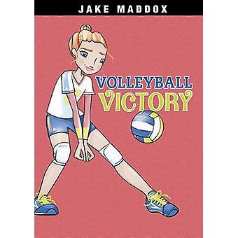 Volleyball Victory by Jake Maddox - Katie Wood - 9781496526212 Book