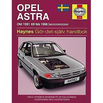 Opel Astra (91 - 98) - 9781859607152 Book