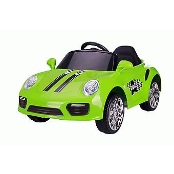 Rideontoys4u barn 12V Boxster stil sport Coupe Electric Ride på bil grønn