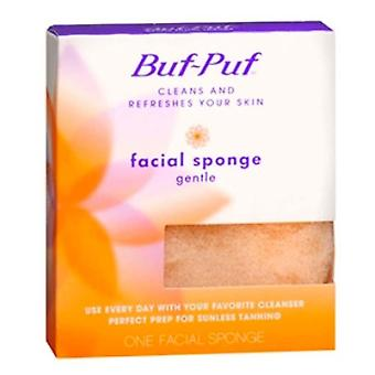 Buf-puf cleans and refreshen your skin, facial sponge, gentle, 1 ea