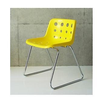 Loft Robin Day slee fel gele plastic Polo stoel