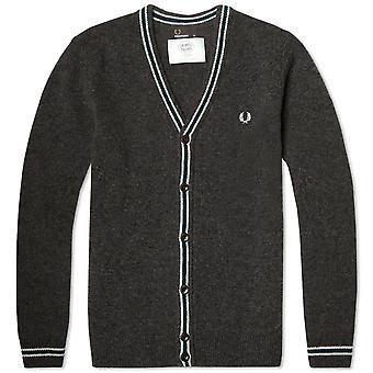 Fred Perry Men's Shetland Wool Cardigan - K7227-829