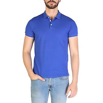 Emporio Armani Men Blue Polo -- 8N1F867248