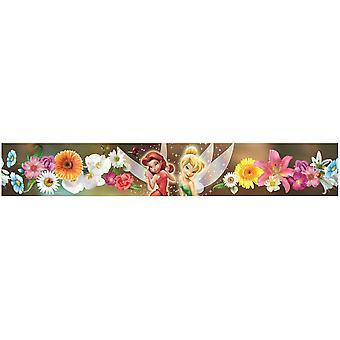 Disney fairies blomster selvklæbende tapet kant 5m