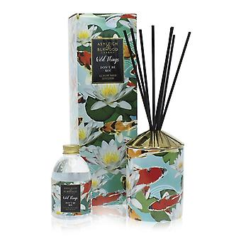 Ashleigh - Burwood Wild Things Luxury Scented Reed Diffuser Don't Be Koi - Épices marocaines