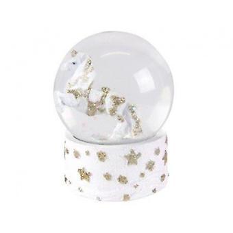 Gisela Graham Fantasy Animals Unicorn Snow Dome