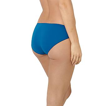 Sans Complexe 609611-GXJ Women's Clémence Blue Lake Lace Knickers Panty Full Brief
