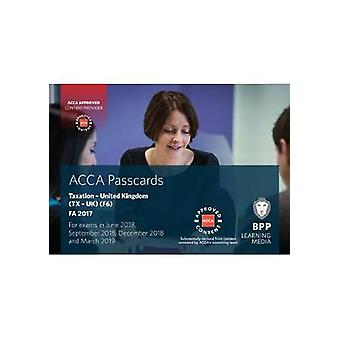 ACCA F6 Taxation FA2017 - Passcards by BPP Learning Media - 9781509715