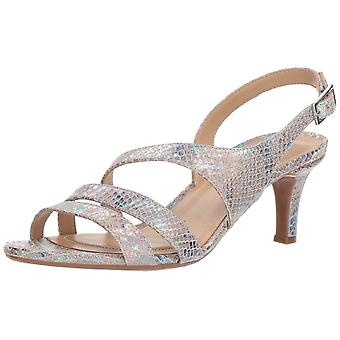 Naturalizer Womens Taimi Tissu Open Toe SlingBack Classic Pompes