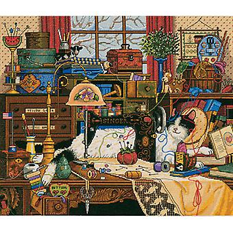 Gold Collection Maggie The Messmaker Counted Cross Stitch Ki 14