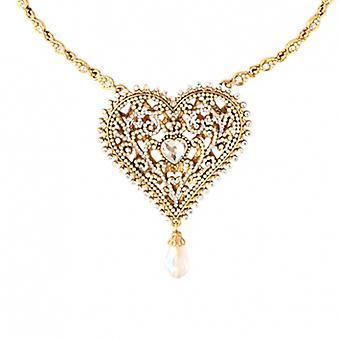 Butler & Wilson Crystal Heart Shape hanger