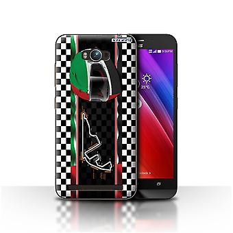 STUFF4 Case/Cover voor Asus Zenfone Max ZC550KL/Abu Dhabi/Yas Marina/F1 Track vlag