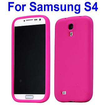 Simpel silikone cover til Samsung Galaxy S4 i9500 (Pink)