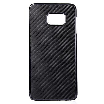 Carbon fiber plastic PC cover for Samsung Galaxy Note 5 (black)