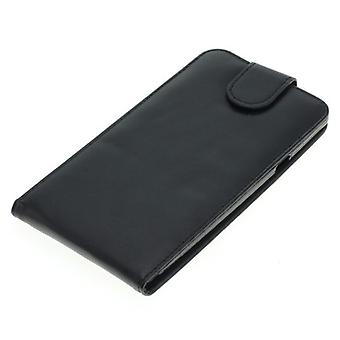 OTB mobile case bag faux leather for mobile CoolPad Modena 2 Flipcase black new