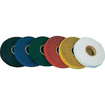 Hook-and-loop tape for bundling Hook and loop pad (L x W) 25000 mm x 10 mm Yellow Fastech T0601002081125 25 m