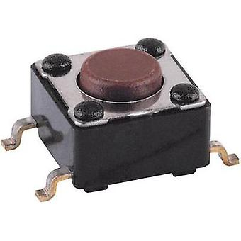 Pushbutton 12 V DC/AC 0.05 A 1 x Off/(On) Mentor 1254.1004 momentary 1 pc(s)