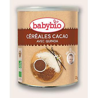 Babybio Cocoa Cereals Pap Babybio 220 Gr (Childhood , Healthy Diet , Cereals)