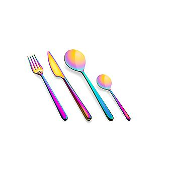 Mepra Linea Rainbow 24 pcs flatware set
