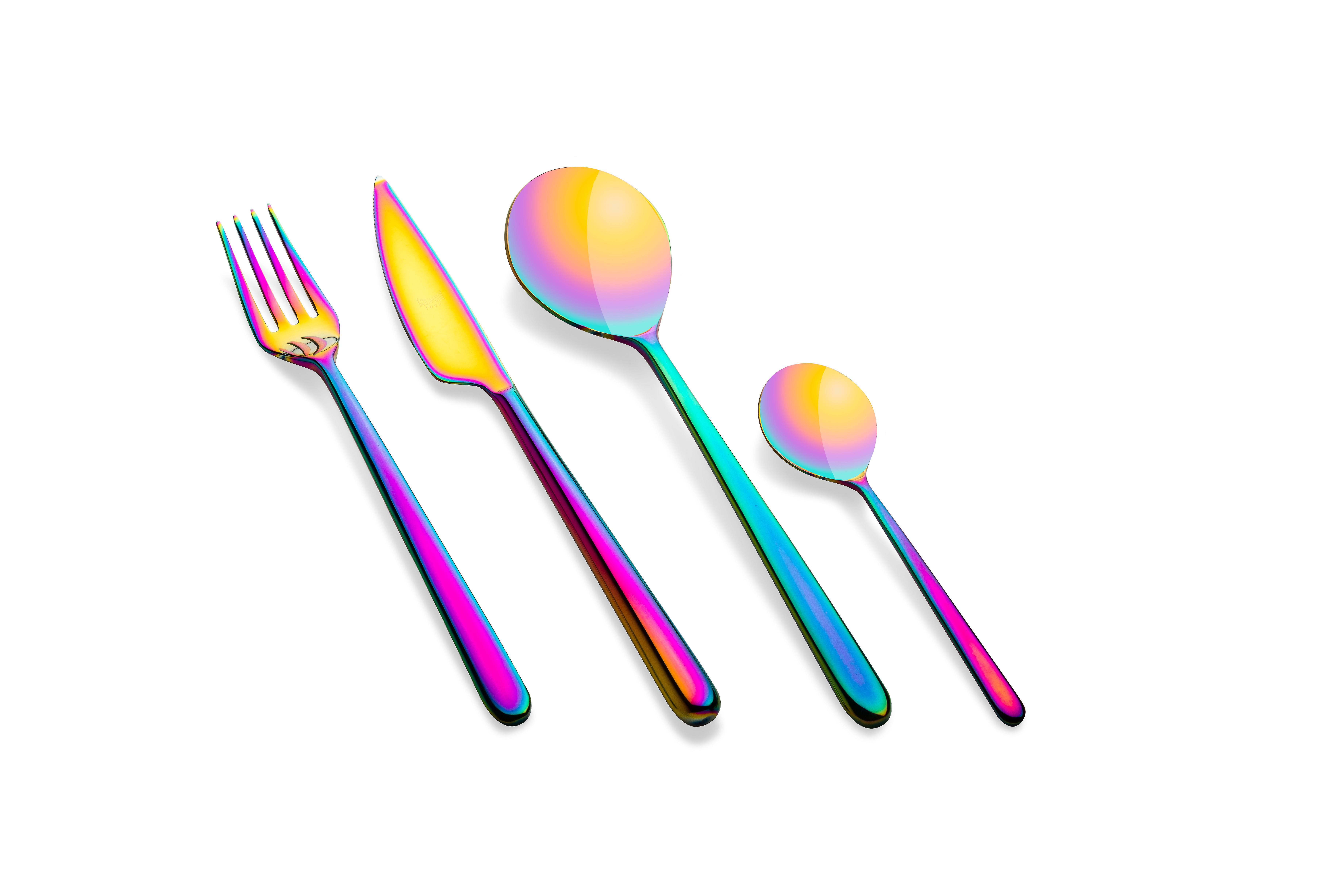 Mepra Linea Rainbow 24 pcs flatware set