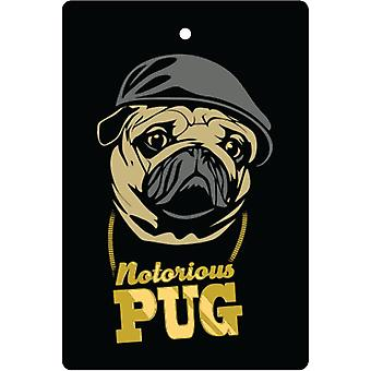 Notorious Pug Car Air Freshener